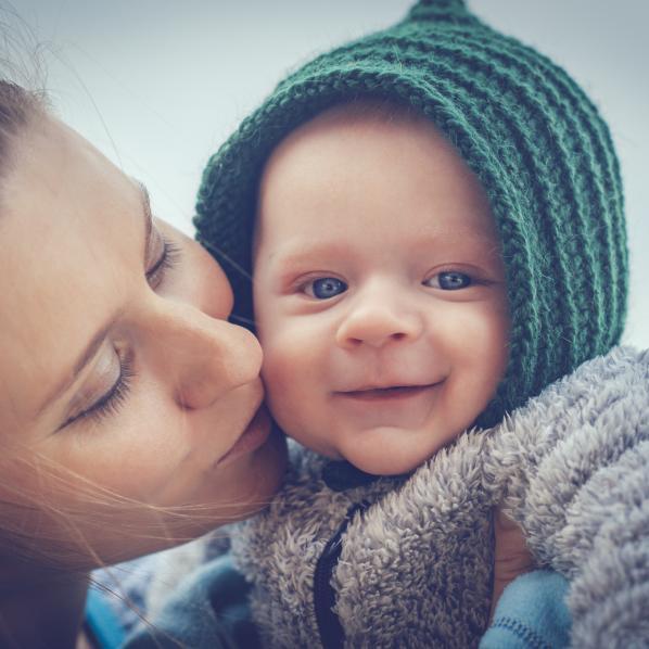 Maman avec son enfant