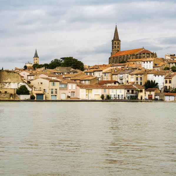 Vue de Castelnaudary